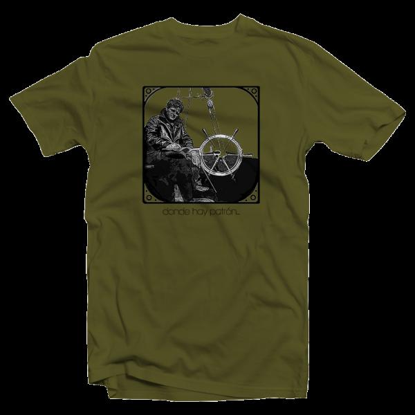 Camiseta marinera donde hay patrón