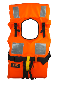 Chaleco salvavidas homologado de 150 N