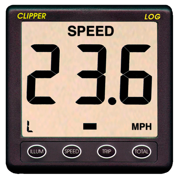 Clipper speed distance system
