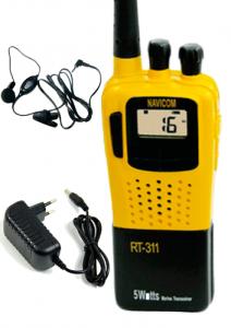 VHF marino portátil Navicom RT 311