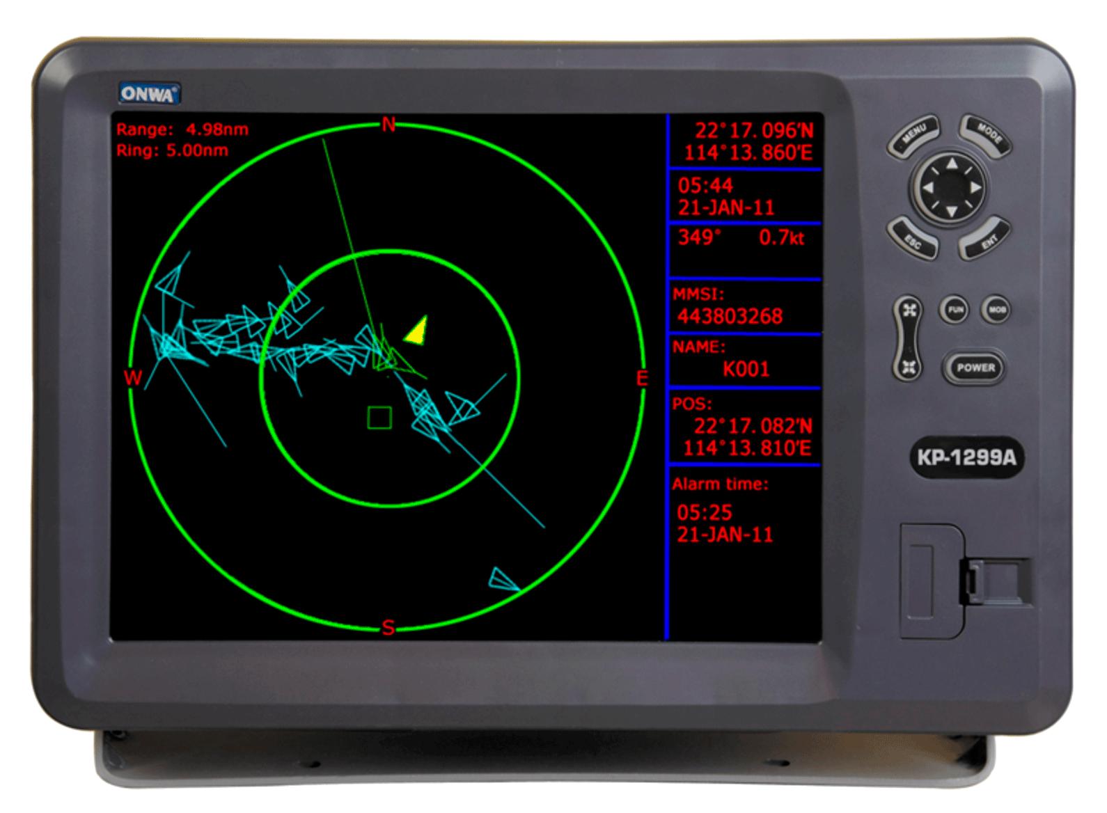 ONWA KP 1299 A PLOTTER GPS + AIS