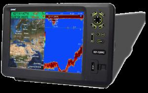 ONWA KP 1299 C GPS PLOTTER + SONDA