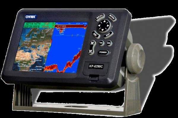 ONWA KP 6299 C GPS PLOTTER + SONDA