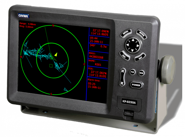 ONWA KP 8299A GPS PLOTTER + AIS