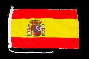Bandera de España con Escudo