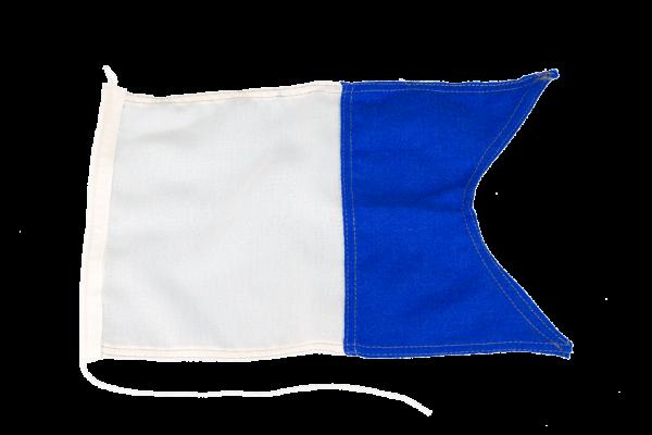 Bandera señalización submarinistas