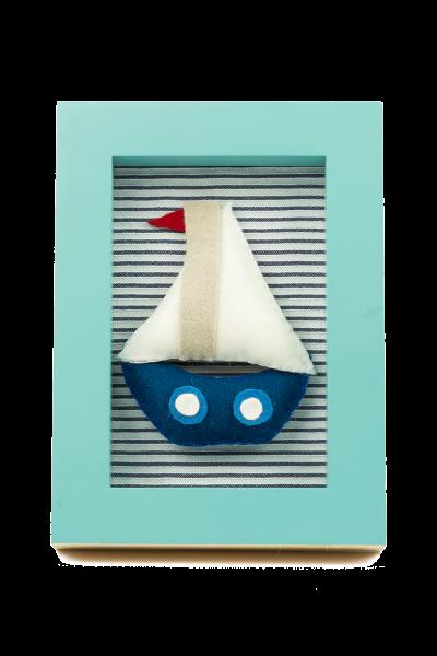 Barco velero para decoración