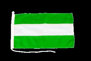 Bandera de Andalucía para barco