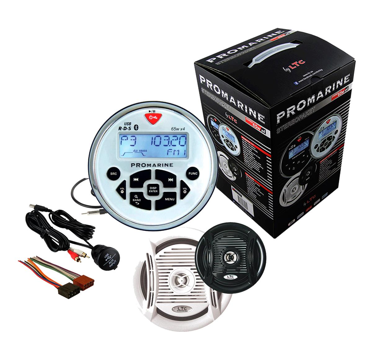 Radio música promarine 1111 kit