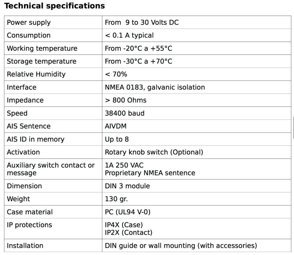 Wamblee w440 especificaciones técnicas