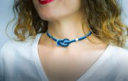Gargantilla marinera azul cabo