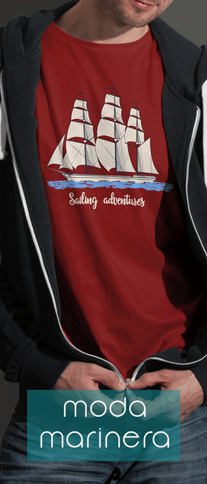 Camiseta marinera Sailing