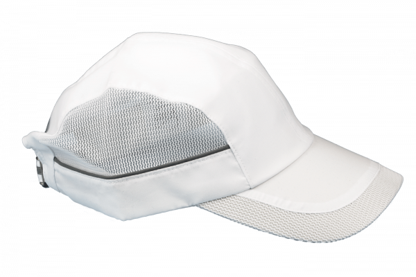 Gorra blanca mujer