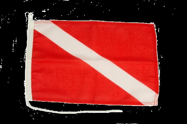 Bandera buzos sumergidos
