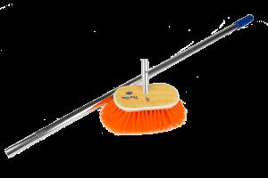 Cepillo medio t-brite con palo telescópico