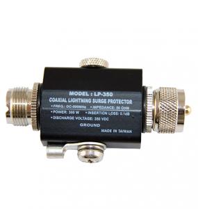 Protector VHF para rayos
