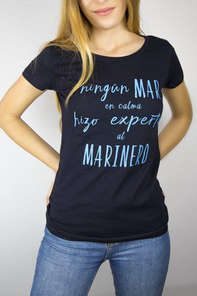 camiseta marinera mujer