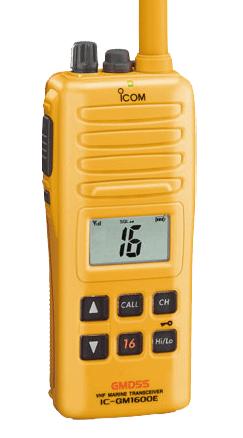 ICOM IC-GM1600E VHF de supervivencia