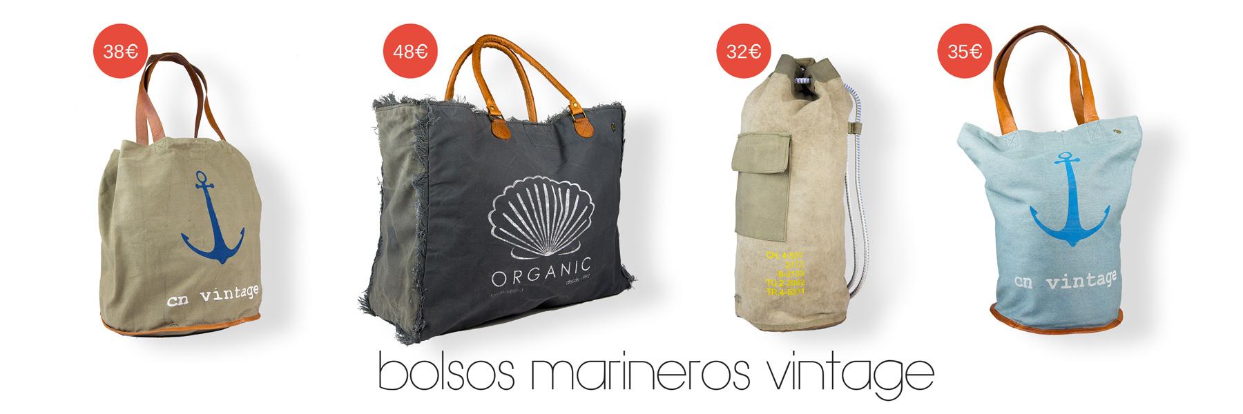 Bolsos y bolsas marineras