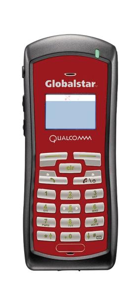 Teléfono satelital Globalstar GSP-1700 rojo
