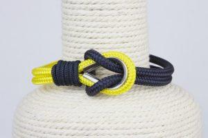 pulsera marinera azul y amarilla