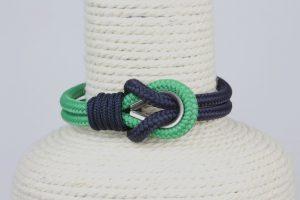 pulsera marinera azul y verde