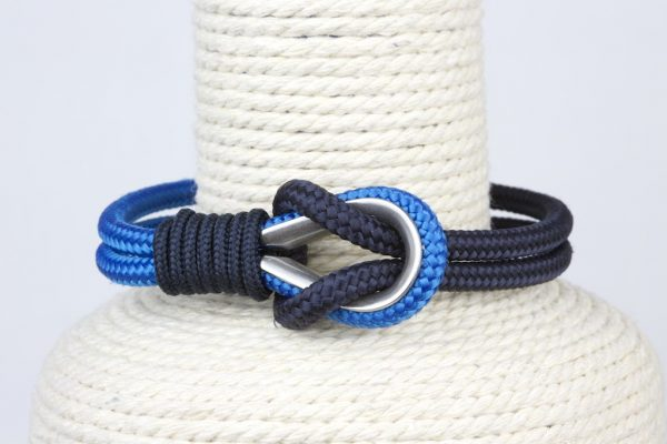 pulsera marinera hombre azules