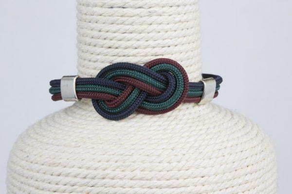 pulsera marinera mujer ocho verde