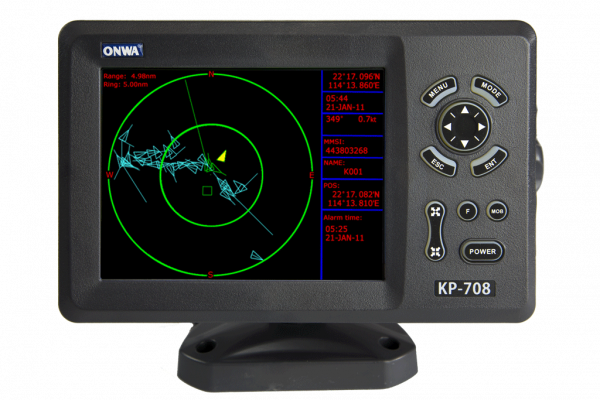 ONWA KP-708 A GPS PLOTTER CONAIS