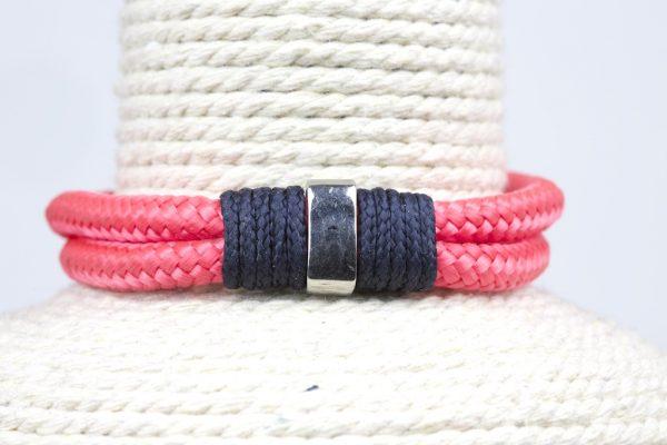 pulsera nautica rosa
