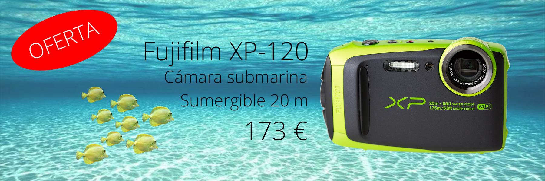FUJIFILM XP120 OFERTA