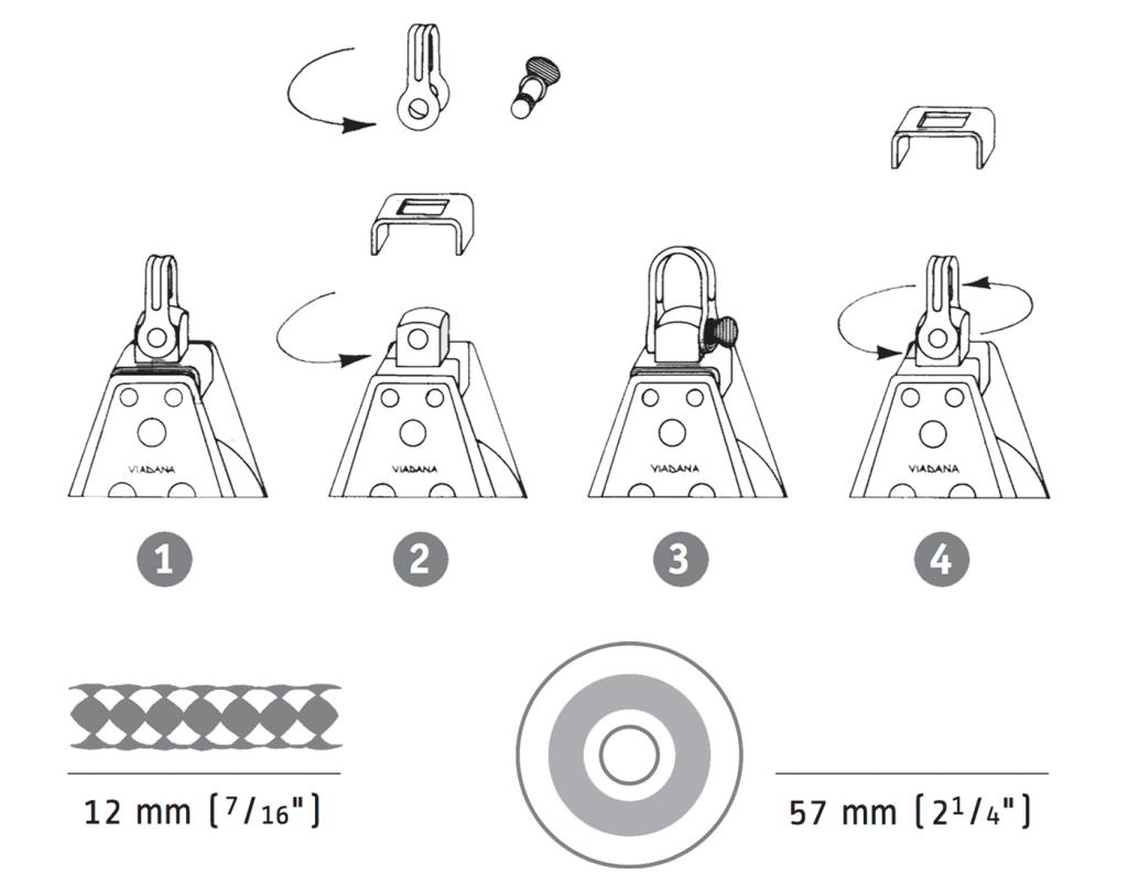 Esquema poleas 57 mm 2