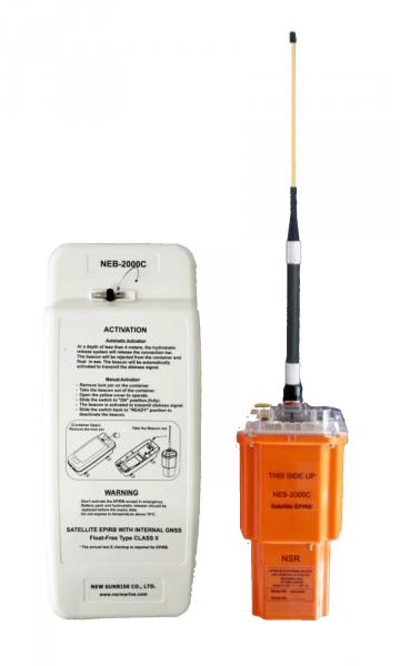 Radiobaliza EPIRB NSR NEB 2000C