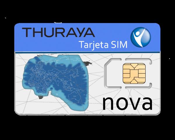 Thuraya tarjeta SIM NOVA