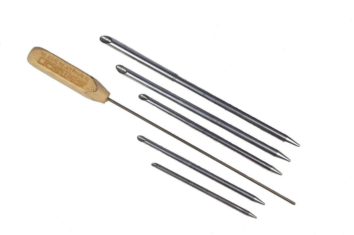 agujas para hacer gazas