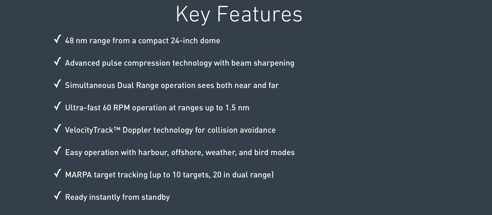 Características Radar Halo24
