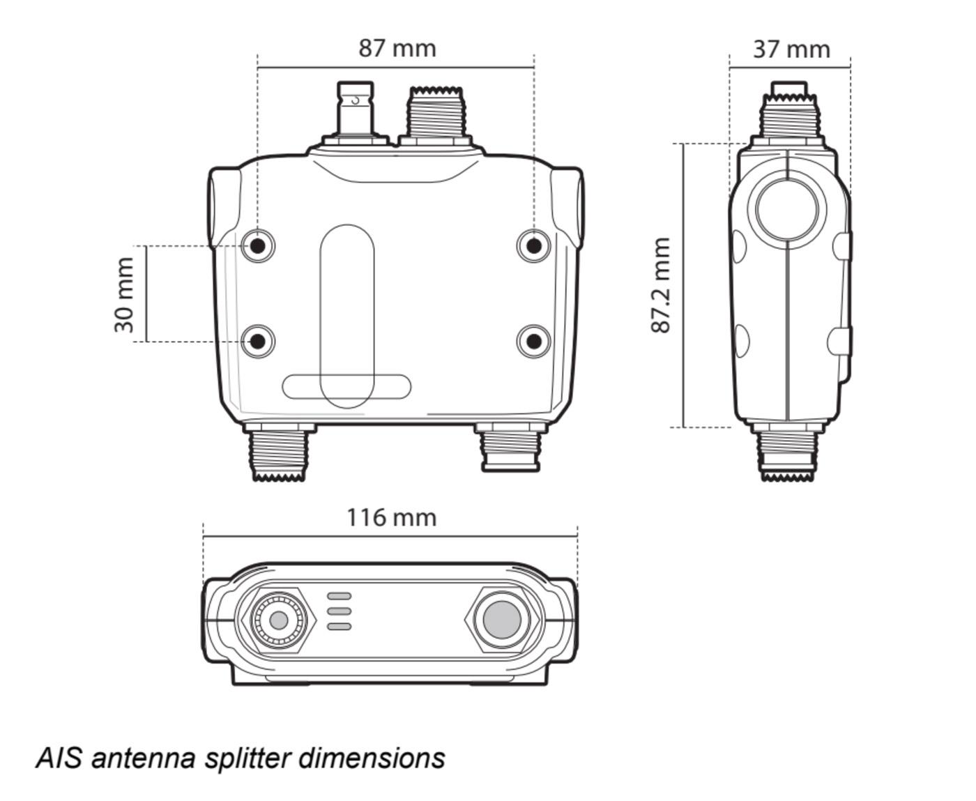 Dimensiones S100 Em Trak