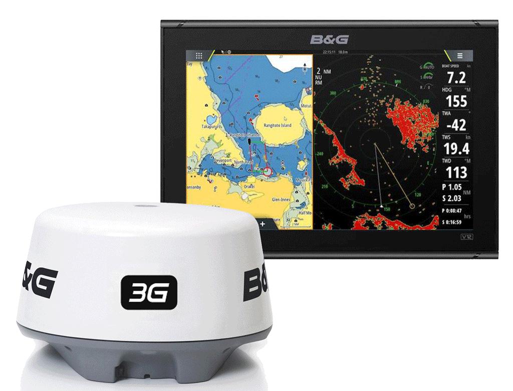 B&G Vulcan12 radome radar