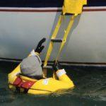 Escalera emergencia barco