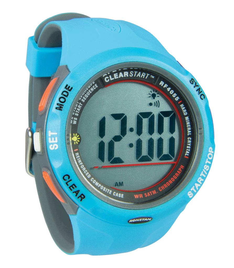 Reloj ronstan Clearstart azul