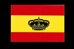 Bandera de España pegatina