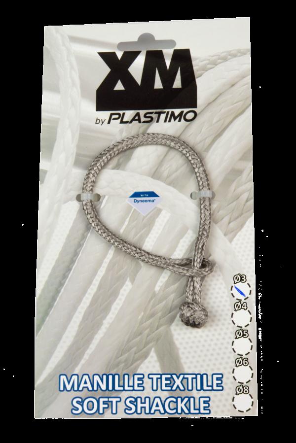 Grillete textil de Plastimo