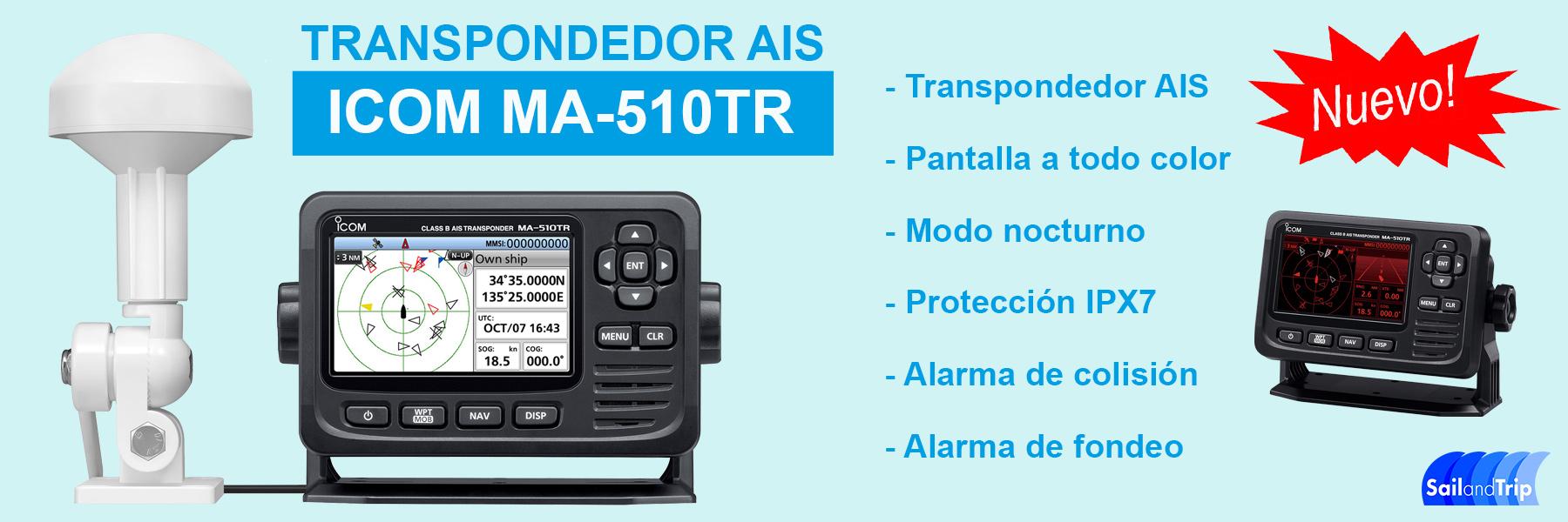 ICOM MA 510TR banner